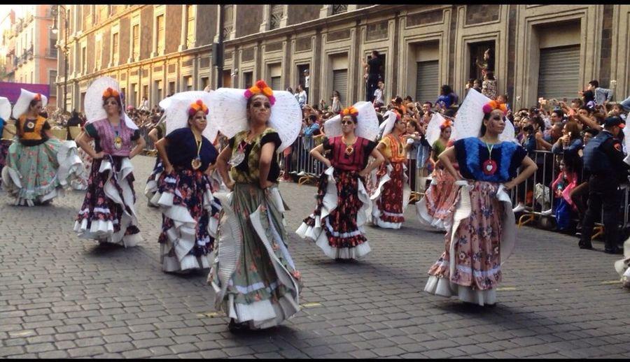 Tradition Diademuertos2017 México Desfile CDMX ❤