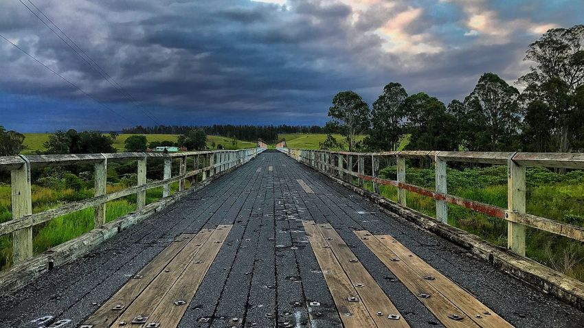 Cloud - Sky Sky No People Tree Landscape Outdoors Nature Bridge - Man Made Structure Day Beauty In Nature Scenics