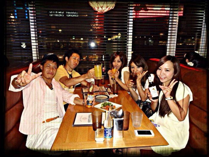 由比ヶ浜からのビアガーデン❤️ Beer Party Friends Drinking