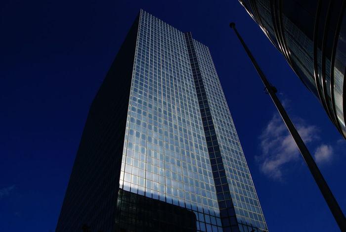 #freeday II City Modern Skyscraper Futuristic Illuminated Pixelated Business Finance And Industry Sky Architecture Building Exterior