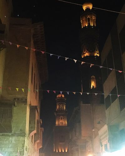 My Year My View Night Architecture Built Structure No People City Outdoors Sky History Building Story Sunset Architecture Egypt Cairo First Eyeem Photo
