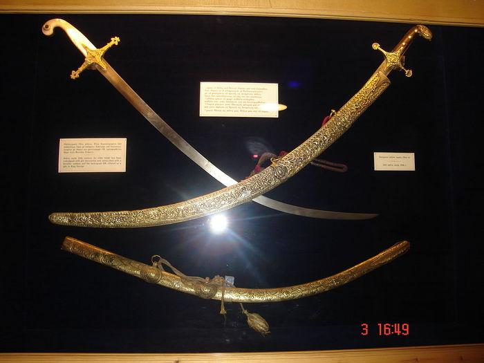 No People Revolution Greek Revolution 1821 Swords Sword Warriors Scimitar