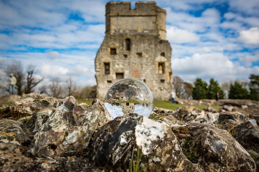 Berkshire Castle Donnington Castle Newbury Uk Ruins Landscape Lensball Ruin Ruins Architecture Sky