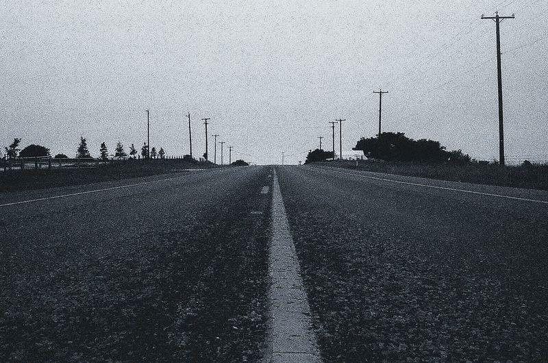 35mm Film Photography Canon 35mm Film Analog Black & White Blackandwhite Lines Road Asphalt
