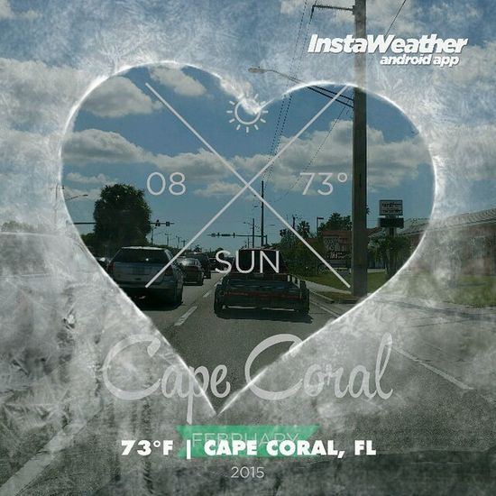Photo made by Instaweather Free App! @instaweatherpro Instaweather Instaweatherpro Weather Wx android capecoral fl day winter clear afternoon hot fl