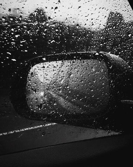Rainy Days Car Journey Into The Night