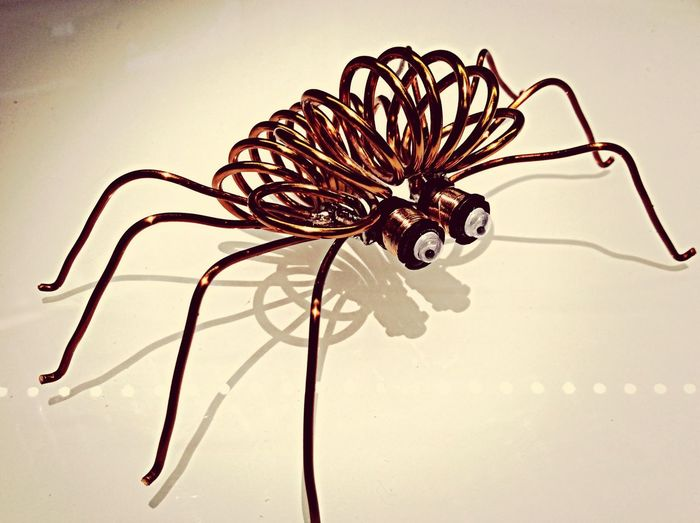 Det er de underligste insekter vi har her.... Electronic