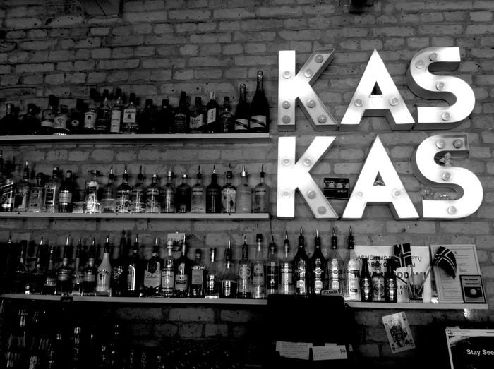 It's a lovely place. If u ever be in Vilnius, u should join it !! Restaurant Bar Great Atmosphere Alcohol Kaskaskas