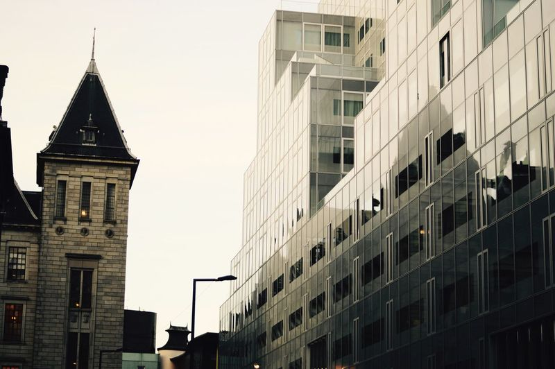 Architecture Building Exterior Built Structure Window City No People Outdoors Low Angle View Day Sky Modern