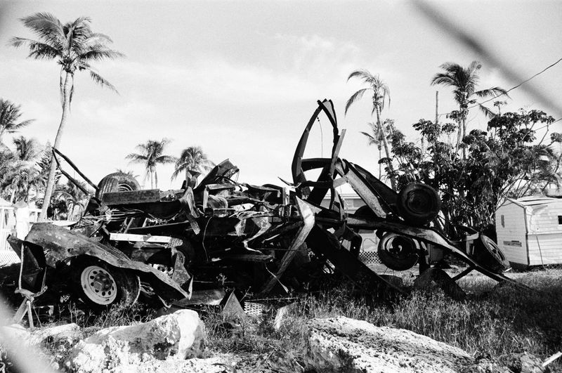 'her wrath' Mangled trailers in the aftermath of Hurricane Irma, September 2017 in Islamorada, FL. 35mm 35mm Film Destruction Hurricane Irma 2017 Storm Bnw Bnw_collection Bw Bw Photography Bw_collection Florida Florida Keys Hurricane Islamorada Trailers