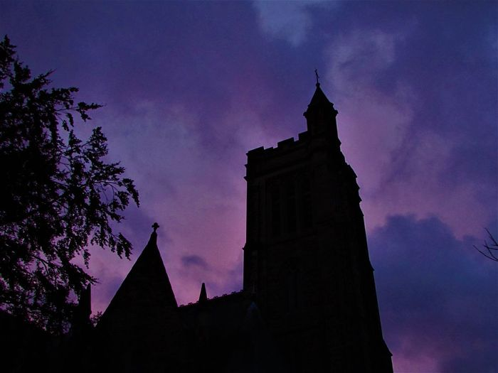 📷⛪ Night Silhouette Sunset Outdoors Architecture No People Sky Astronomy Cityscape Sommergefühle