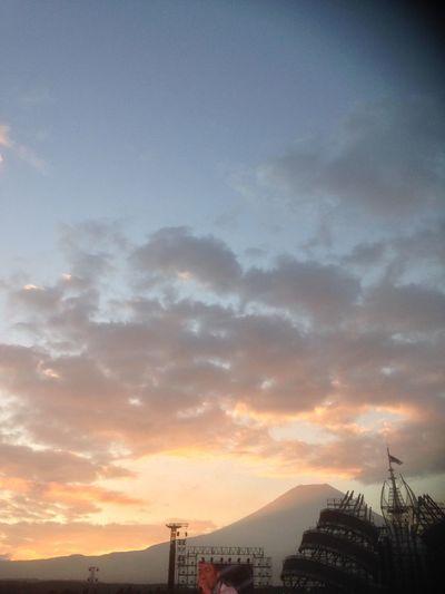 Fuji Fujisan Mtfuji Good Morning Morning Sky Enjoying Life Sky Collection