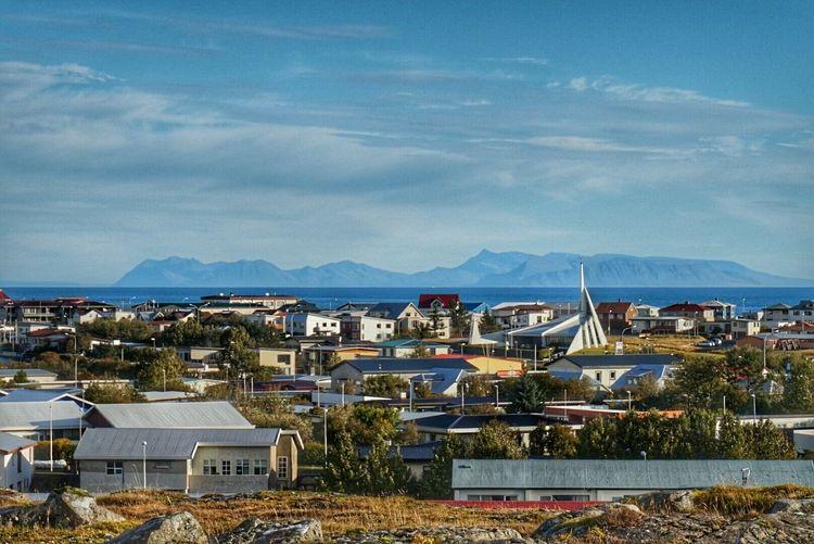 Mytown Njarðvik Reykjanesbær Geopark Autumn Collection Autumn Weather