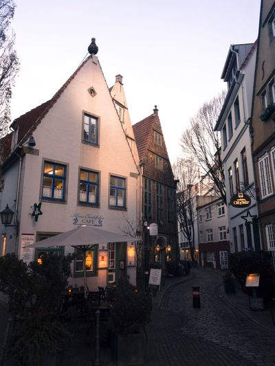 Architecture Building Exterior No People Sky Europe Germany Architecturephotography Eurotrip Travel Travel Destinations Bremen City Bremen Street Photography Europe Trip Alleyway Alley Medieval Folk Village Village Life Great View Awesome_shots Pretty Old Town Schnoor Schnoor In Bremen