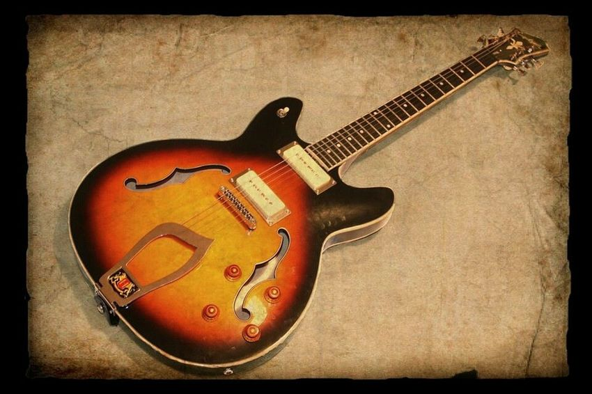 Blues Music Oldschool Creativity Culture Hagstromguitar Hagstrom Viking My Guitar Old Image Lieblingsteil