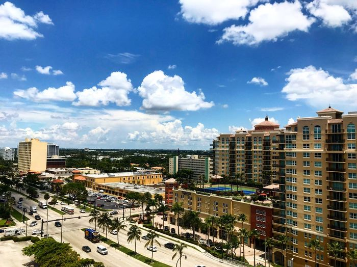 Florida Fort Lauderdale  Building Exterior Built Structure City Architecture Sky Cloud - Sky Building Residential District Cityscape High Angle View Day Nature Crowd City Life Outdoors Travel Destinations