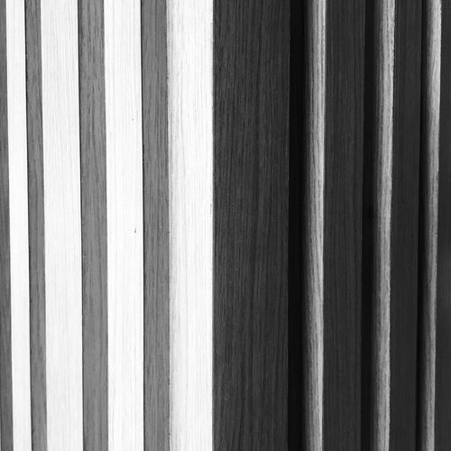 COLUMN Black & White Full Frame Backgrounds Pattern Textured  Close-up No People Striped Wood - Material Architecture Wood Design Wood Grain