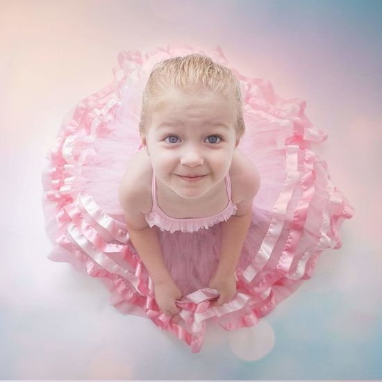 Bailarina.. Portrait Pink Color People Child Beauty Day Smiling Girls Children Only Ballett Bailarina Bale  Lovely Love Cute Heart ❤ Heart Baby Indoors  Sitting Happiness One Girl Only