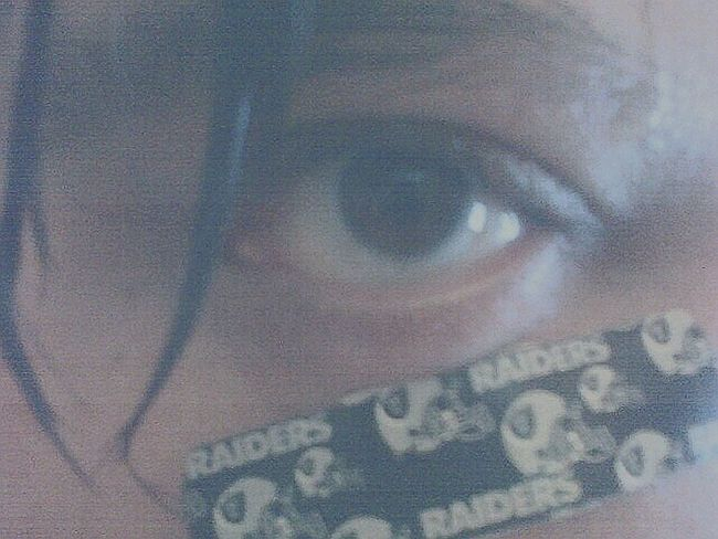 My Eye Bandage Raider Style Sweat Sexyeye Blitzed That's Me Eye Closeup Close Up