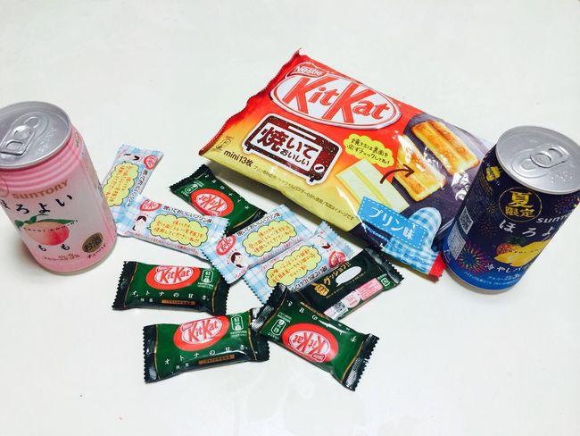 일본산 Kitkat & Sake 짱짱 새로운 맛