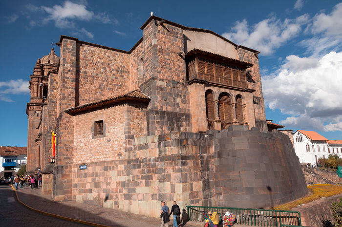 Cusco Iglesia Coricancha Architecture Built Structure History Group Of People The Past Sky Building Exterior Tourism Travel Destinations Real People Nature Travel Ancient Cloud - Sky Men Women People Lifestyles Day Incidental People Ancient Civilization Outdoors Archaeology Visit