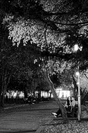 Ночные прогулки. Light And Shadow Black&white Monochrome Blackandwhite Bw Street Streetphotography Novosibirsk Night Lights People