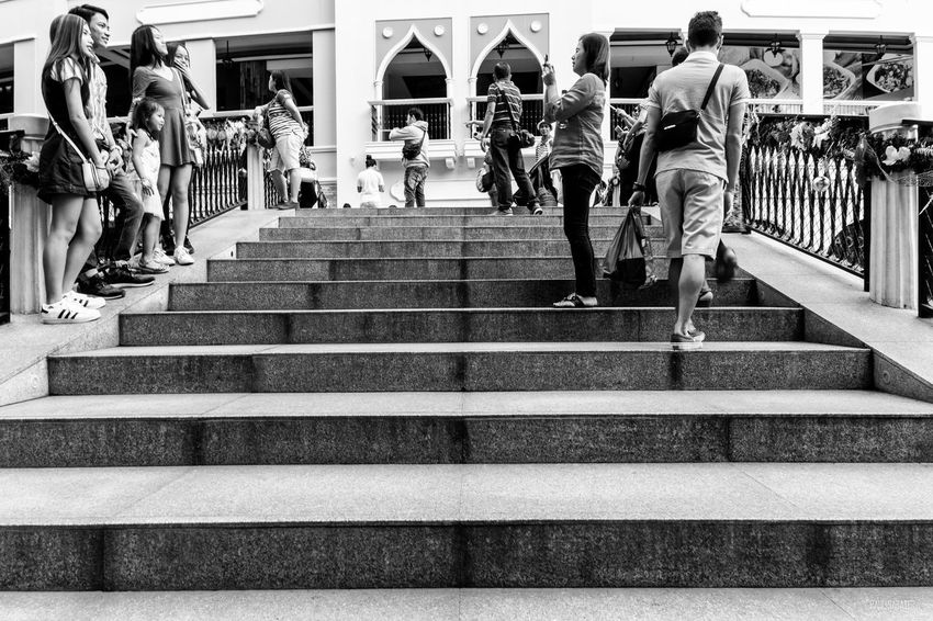 Large Group Of People Railing Steps Men Women Real People Outdoors Day People Photography People Watching Blackandwhite Monochrome Vscophilippines Vscogrid Vscogood Wheninmanila VSCO Streetphotography Mirrorlessrevolution Low Angle View Fujifilm_xseries Eyeem Philippines EyeEm Manila