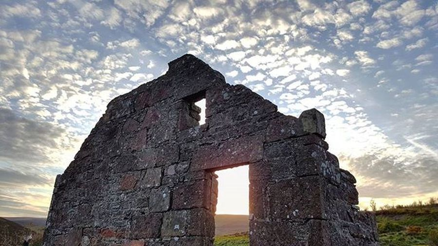 Window to Nature Beautiful sky and sunset against the silhouetted ruin. Nature Beautiful Ruins Calm Sunset Spring WOW Sky Skyporn Silhouette Cairnomount Textures Aberdeenshire Banchory Landscape Arcitecture Scotspirit POTD Photooftheday Visitaberdeenshire Instascotland Visitabdn VisitScotland @visitabdn Britains_talent Loves_Scotland brilliantmoments