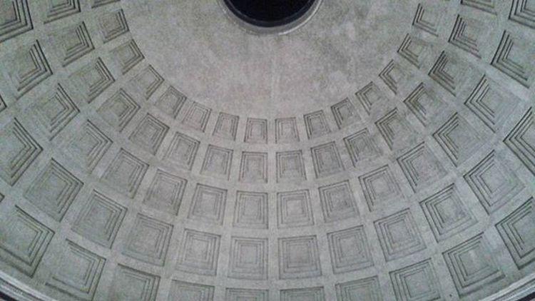 Pantheon Roma Agrippa Rome Adriano Hadrian Architecture Architettura Cupola Dome