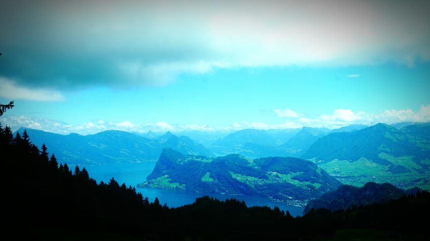 Switzerland Pilatus Landscape