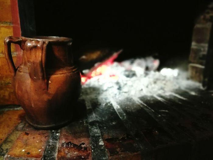 Heat - Temperature Flame Red Workshop Burning Close-up Day Antico Pignata Fuoco Camino Legna Cottura