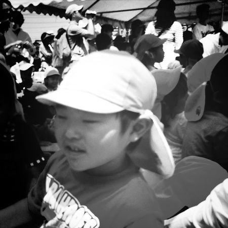 暑かったけど、親子参加型の運動会は、楽しかったです。(*^^*)v Kariya