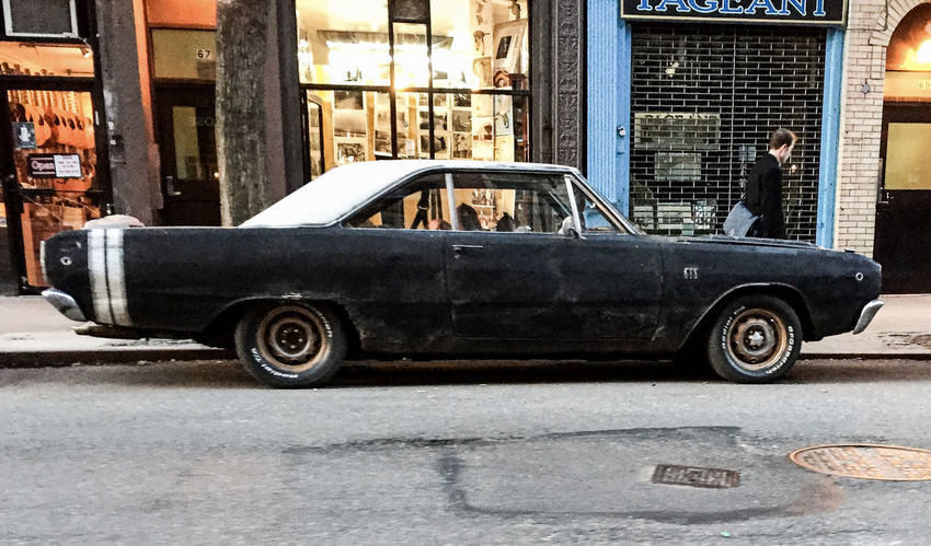 Classic Car Dodge Dart LES Streetphotography Spring2015 Manhattan NYC Timyoungiphoneography
