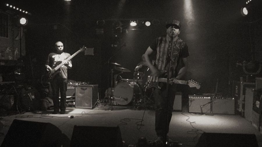 Ayron Jones & the Way in Tacoma Live Music Black & White