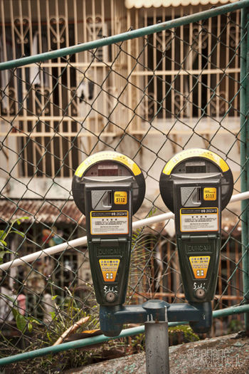 Parking meter to Macao Macao  Macao China Macao Photos No People Parking Meter Warning Sign