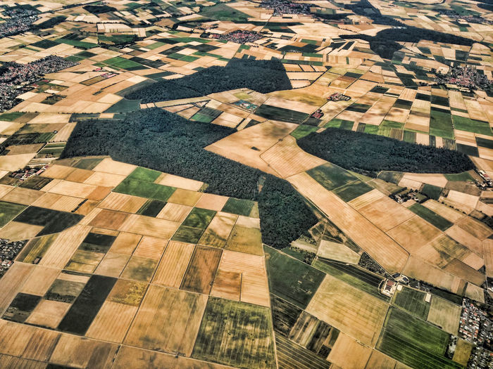 Abundance Aerial View Day Elevated View Landcape Landscape Nature No People Outdoors Tranquility