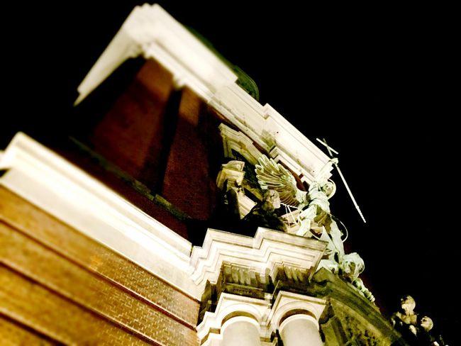 Hamburg Church Darkness And Light Urbanphotography Nightphotography Night Ilovehamburg
