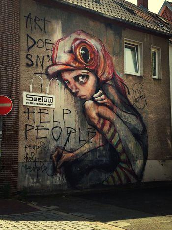 Herakut Lüneburg Street Art