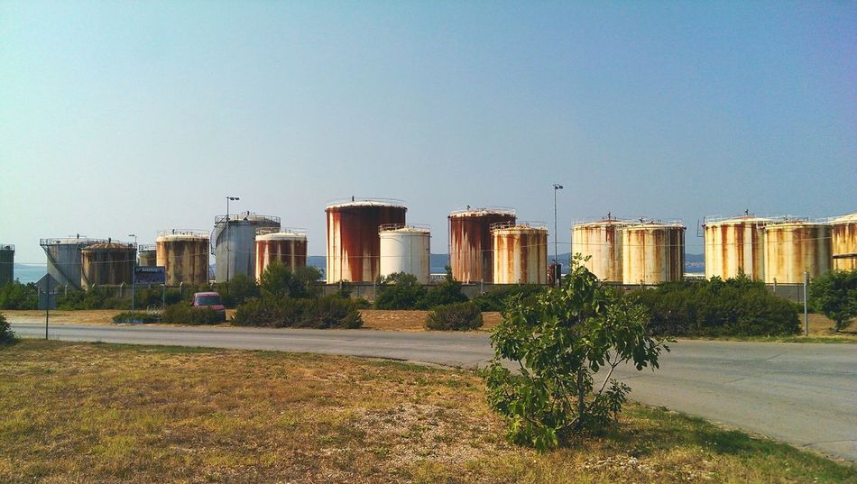 Old oil refinery in Croatia Holiday Sea Oil Refinery Croatia Your Ticket To Europe