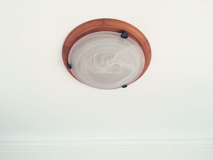 Close up of lamp