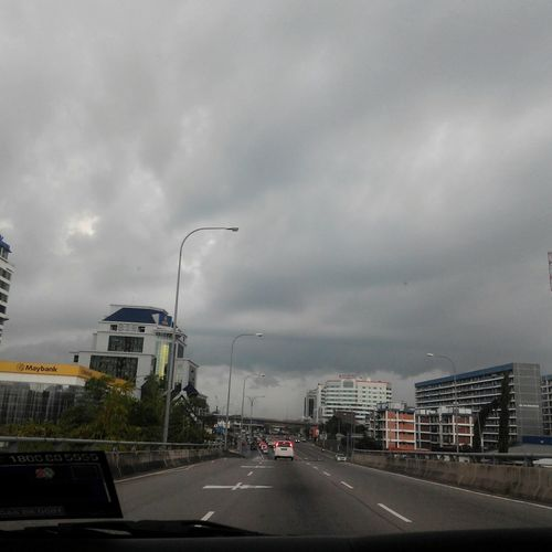 When you're supposed to be welcoming a new day and the weather's like, LOL NO Rain Storm Clouds Monsoon Country Kota Kinabalu Kk City This Is My Life Twominutehipster Photos My Point Of View Nofilterneeded