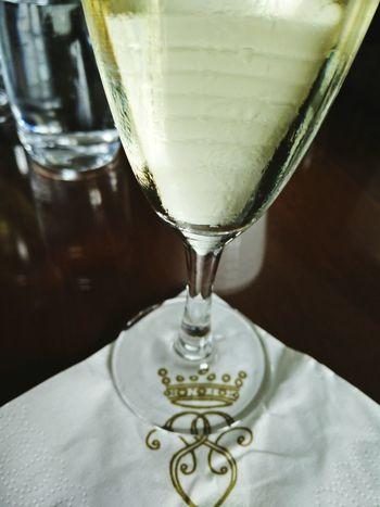 Champagne @ Södertuna Slott Gnesta Sweden Drink Glass Relaxing Enjoying Life