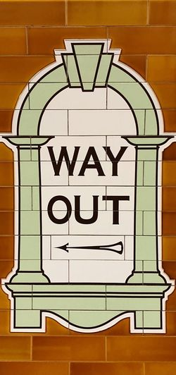 Way out ⬅️