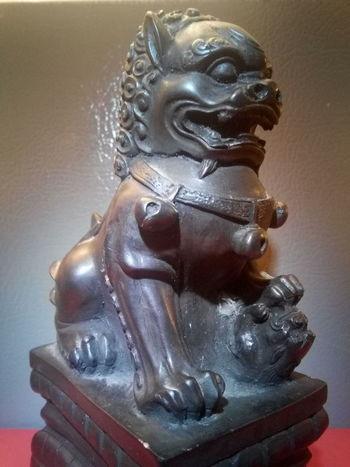 Lieblingsteil Statue Foo Dog