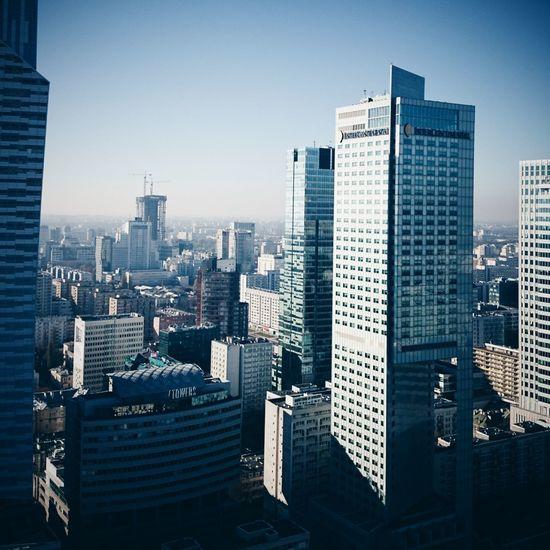 Poland Warsaw VSCO Urban Geometry