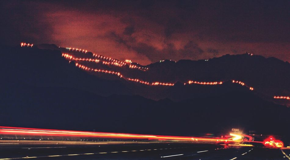 Driving Mountains Nightphotography