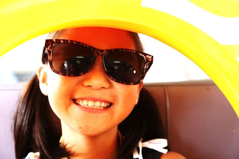 Faces Of Summer Rubber Sunglasses Summer Holiday POV 白石島 海の日 海水浴