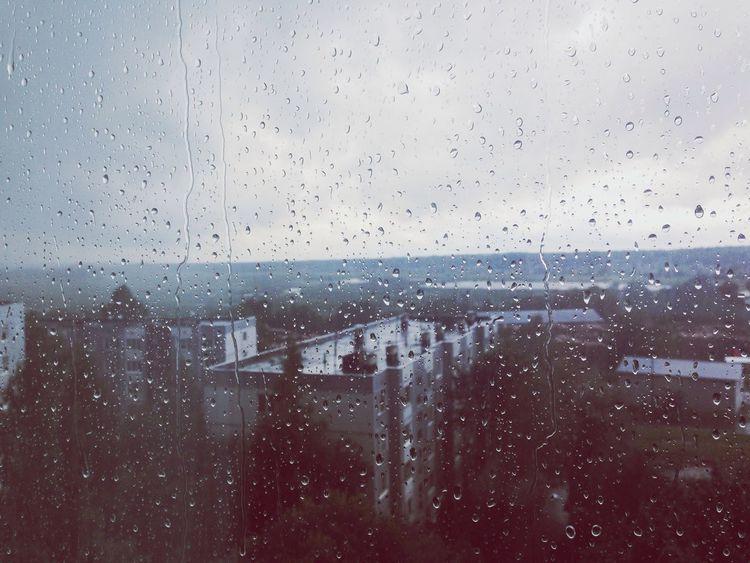 каайф ?☔️☁️? Hello World Rain Rain Drops August