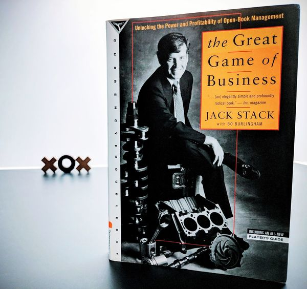 The Great Game of Business by Jack Stack Book Bookphotography Bookphoto Book Cover Bookstagram Bookeh Bookaholic Inpursuitofbusinesswisdom Powerofbookscommunity 52booksin52weeks2018 52booksin52weeks