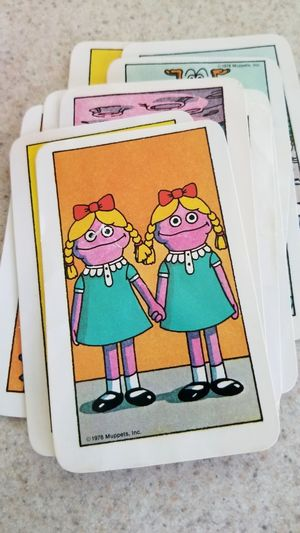 Equality Pride Holding Hands Same  Betty Lou Sesame Street Two Two People Girls Twins Muppets Cards Vintage Toys Come Play With Us Danny The Shining